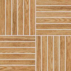 wood béžová mozaika 29,2/29,2 DDV1V619 I.j.-Atypická mozaika do koupelny od značky Rako v imitaci dřeva vytvoří z vaší koupelny originální prostor. Mozaiku tvoří místo klasických čtverců cihličky, a proto je svým designem nevšední. Mozaiku můžete využít pro optické zvýraznění vybraného prostoru v koupelně nebo třeba do sprchového koutu jako protiskluzný prvek. Mozaika Wood je dostupná v rozměru 29,2x29,2 cm a má béžovou barvu, typickou pro imitace dřeva. Mozaiku máme skladem.