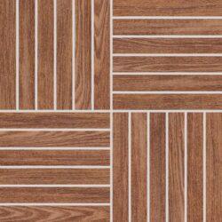 wood hnědá mozaika 29,2/29,2 DDV1V620 I.j.-Atypická mozaika do koupelny od značky Rako v imitaci dřeva vytvoří z vaší koupelny originální prostor. Mozaiku tvoří místo klasických čtverců cihličky, a proto je svým designem nevšední. Mozaiku můžete využít pro optické zvýraznění vybraného prostoru v koupelně nebo třeba do sprchového koutu jako protiskluzný prvek. Mozaika Wood je dostupná v rozměru 29,2x29,2 cm a má hnědou barvu, která působí přirozeně. Mozaiku máme skladem.