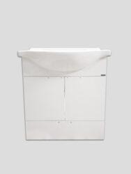 LB ELEMENTS B skříňka závěsná vč.umyvadla ELB65B.L bílá-Skříňka závěsná včetně umyvadla s otvorem pro baterii Šířka 65 cm, výša 70 cm. Otvírací dvířka + šuplík. Úchytky jsou součástí.