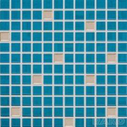 india 30/30 I.j.mozaika mix modrá/platina GDM02075 I.j.