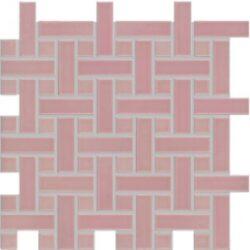 dolcevita 30/30 I.j.růžová pletenec GDMAK001  (2,3x2,3/2,3x7,3)-;mozaika-pletenec k dlažbě růžové, SET, PEI 2, rozměr 30x30 (2,3x2,3/2,3x7,3,1), balení = 0,36m2 = 4ks