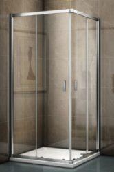 RIHO Hamar 2.0 sprchový kout čtverec 90x90x1950cm GR94200-Sprchový kout čtverec, 90x90 cm. Výška 1950 mm. Bezpečnostní sklo. Vhodný do každé koupelny