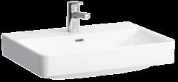 LAUFEN PRO S umyvadlo s otvorem 1096.7 (ch104) I.j-Uymvadlo PRO S 70×46,5 cm. S otvorem pro baterii. Vhodné do každé koupelny