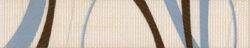 fantastic list.B14 marrón 25/5 I.j.-listela rozměr 25x5 cm
