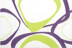 fantastic pistacho decor B14 (kruhy) 25/36,5 I.j.-dekor rozměr 25x36,5 cm