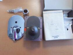 HG Talis E ibox M3 13520180+Talis S vanová bat.pod om.chr.32405000-Podomítková baterie pro dva spotřebiče - s přepínačem. Podomítkové těleso součástí - viz foto. Po odšroubování krytu se objeví vnitřní část tělesa.  Vhodné do každé koupelny k vaně i do sprchového koutu s hlavovou i ruční sprchou.