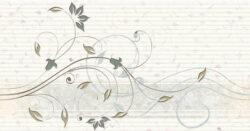 organza pistacho dec.B20 31,6/60 I.j.-dekor rozměr 31,6x60 cm