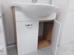 LB CLASS MA05.BL skříňka závěsná s umyvadlem 70x48cm buk/bílá(6609900100000)